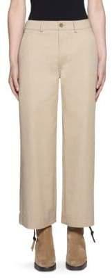 Acne Studios Cropped Wide Leg Pants