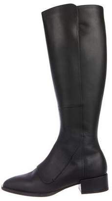 Vince Leather Knee-High Boots w/ Tags