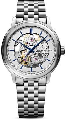 Raymond Weil Maestro Skeleton Watch, 40mm