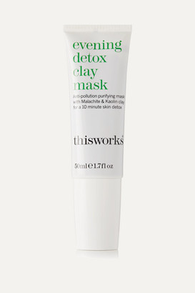 This Works Evening Detox Clay Mask, 50ml - Colorless