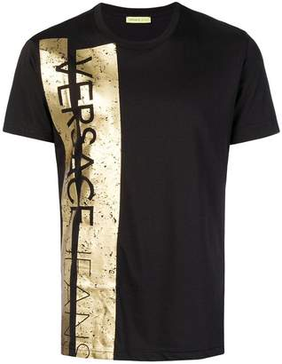 Versace logo trim T-shirt