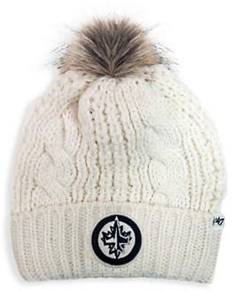 '47 Ladies' Winnipeg Jets NHL Faux Fur Meeko Cuff Knit Toque