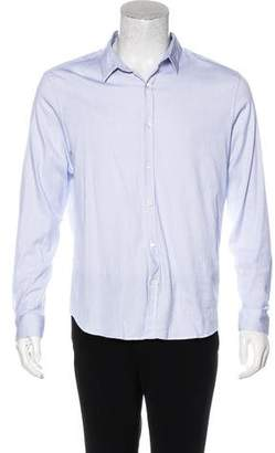 Theory Knit Button-Up Shirt