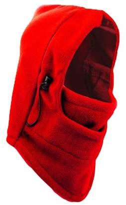 Beautyko Fleece Warm Hood Cap Ski Scarf Mask Hats For Bike Winter Outdoor