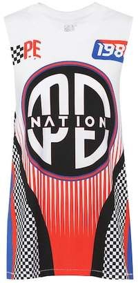 P.E Nation Soccer cotton tank top
