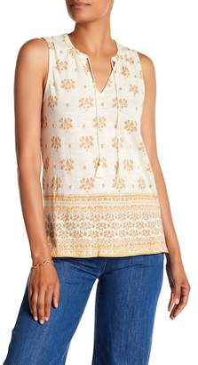 Lucky Brand Mix Print Tank Top