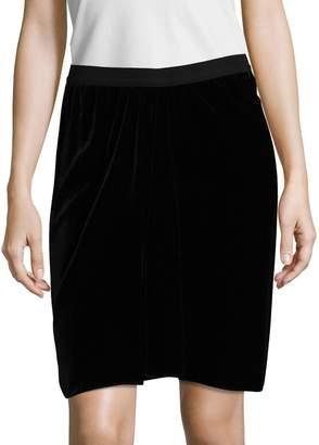 Isabel Marant Women's Linore Grosgrain Above The Knee Skirt