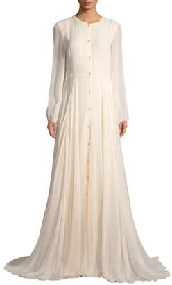 Carolina Herrera Women's Mesh Long Gown