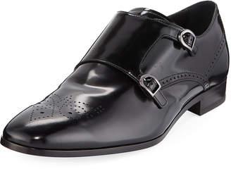Tod's Men's Shiny Double-Monk Dress Shoes