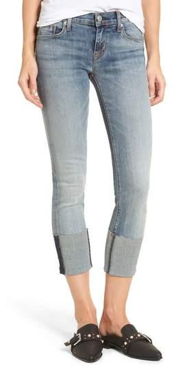 Tally Cuffed Crop Skinny Jeans
