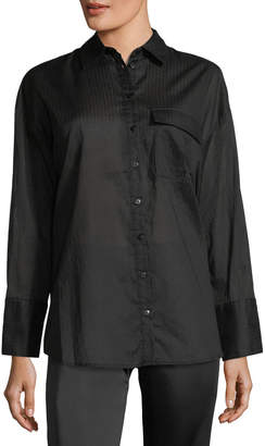 The Fifth Label Sun Valley Striped Poplin Blouse