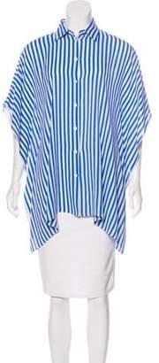 Michael Kors Silk Striped Tunic