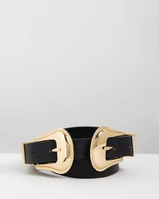 Mng Double Buckle Belt