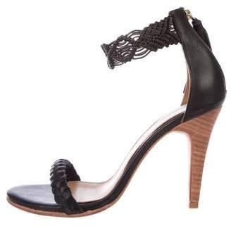 Ulla Johnson Woven Leather Sandals