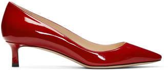 Jimmy Choo Red Patent Romy 40 Heels