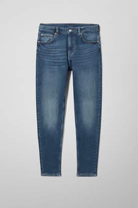 Weekday Cone Slub Blue Jeans - Blue