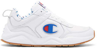 Champion Reverse Weave White 93Eighteen Big C Sneakers