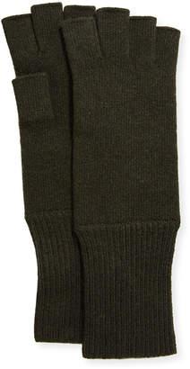 Portolano Men's Cashmere Fingerless Gloves