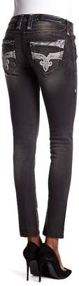 Rock Revival Stone Accent Skinny Jeans