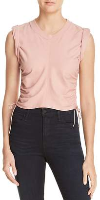 Alexander Wang Ruched Muscle Tee