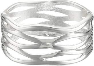 Robert Lee Morris Cut Out Hinge Bangle Bracelet Bracelet