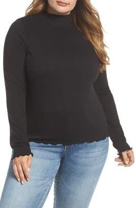 BP Slim Rib Long Sleeve Tee