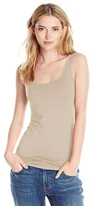 Three Dots Women's Refined Jersey Long Fitted Tank