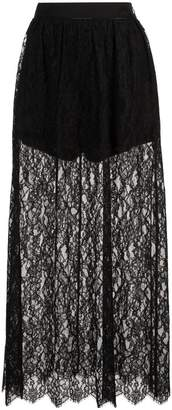 Fleur Du Mal high waisted lace skirt