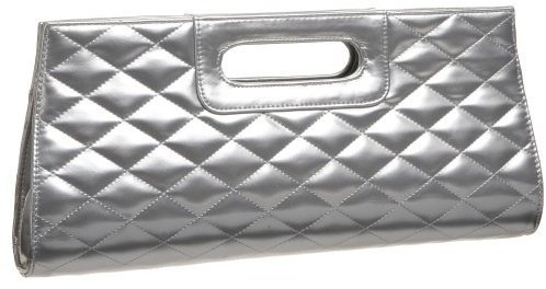 Prezzo Quilted Cut-Out Handle Clutch