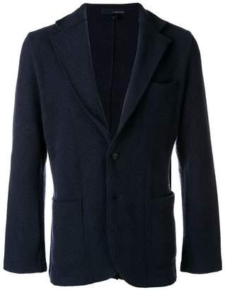 Lardini classic knit blazer