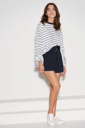 THE FIFTH FRISBEE STRIPE JUMPER white w navy