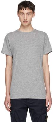 John Elliott Grey Classic Crewneck T-Shirt
