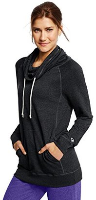 Champion Women's French Terry Funnel Neck Top $19.54 thestylecure.com
