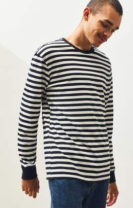 Proenza Schouler Basics Basics Bayton Striped Long Sleeve T-Shirt