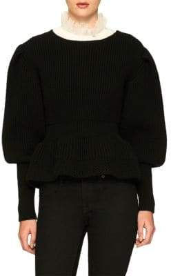 Burberry Wool & Cashmere Ribbed Sweater