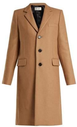 Saint Laurent - Chesterfield Camel Coat - Womens - Light Brown
