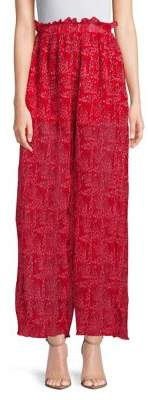 The Fifth Label Ruffle Wide-Leg Pants