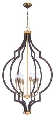 Everly Quinn Astin 6-Light Foyer/Lantern Pendant