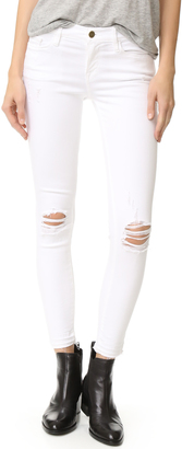 FRAME Le Skinny De Jeanne Cropped Jeans $195 thestylecure.com