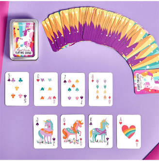 Twos Company Two's Company Royal Unicorn Playing Card in Tin Storage Case