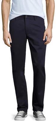 Arizona Slim Fit Flat Front Pants