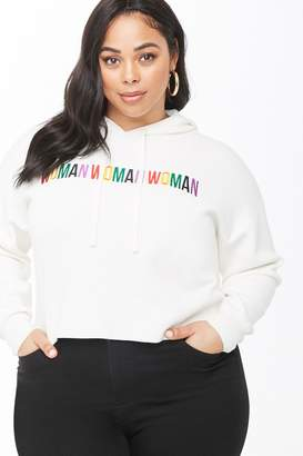 Forever 21 Plus Size Woman Graphic Hoodie