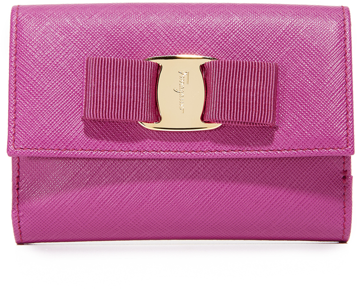 Salvatore Ferragamo Salvatore Ferragamo Miss Vara Bow Wallet