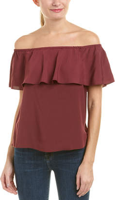 7 For All Mankind Seven 7 Off-The-Shoulder Top