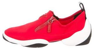 Giuseppe Zanotti Round-Toe Low-Top Sneakers