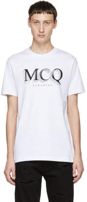 McQ White Logo T-Shirt