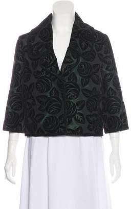 Andrew Gn Silk-Blend Notch-Lapel Jacket