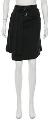 Ter Et Bantine Pleated Wool Skirt