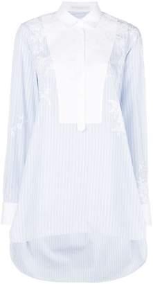 Ermanno Scervino embroidered button shirt