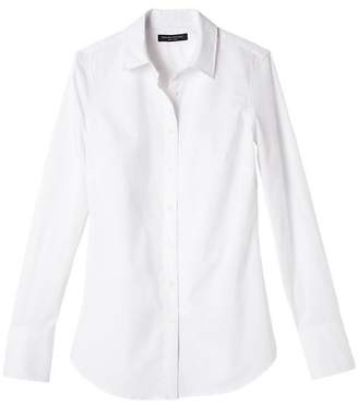 Riley-Fit Stain-Resistant Super-Stretch Shirt $68 thestylecure.com